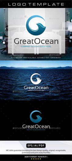 Great Ocean - Letter G Logo