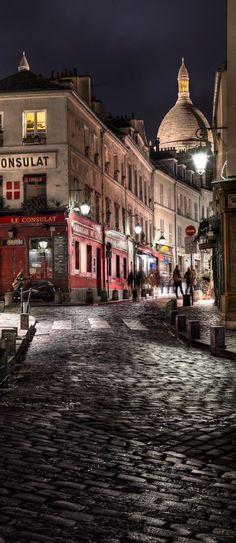 .~Montmartre, Paris, France~.