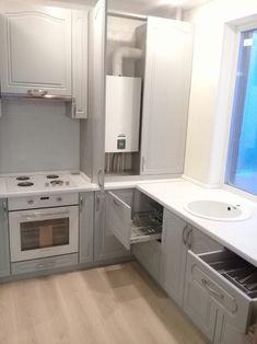 The Best 2019 Interior Design Trends - Interior Design Ideas Kitchen Room Design, Laundry Room Design, Home Room Design, Dream Home Design, Home Decor Kitchen, Kitchen Interior, House Design, Small Kitchen Organization, Diy Kitchen Storage