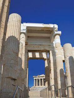 Αcropolis, the Propylaea.