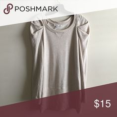 Bcbgeneration Top Super cute top to wear over leggings. Pair with some over the knee boots or booties this fall. In great condition, selling because it no longer fits BCBGeneration Tops