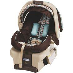 "Graco SnugRide 30 Infant Car Seat - Carlisle - Graco - Babies ""R"" Us Preemie Babies, Babies R Us, Baby Kids, Baby Boy, Preemies, Rear Facing Car Seat, Baby Wrap Carrier, Baby Necessities, Baby On The Way"