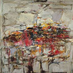 City Landscape Artist: Joan Mitchell Completion Date: 1955 Style: Abstract Expressionism Period: Early Career NY: 1948–1958 Genre: abstract Technique: oil Material: canvas