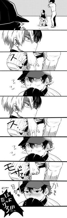 Boku no Hero Academia || AU [ Midoriya Izuku, Todoroki Shouto. ]