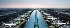 بيان صادر عن مطارات دبي - الإمارات اليوم