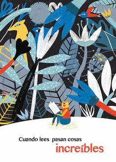 Con Cuando lees pasan cosas increíbles, Estelí Meza ha recibido una Mención en el XXIX Concurso Nacional de Cartel Invitemos a Leer de la Secretaría de Cultura de México en el marco de la 37ª FILIJ (Feria Internacional del Libro Infantil y Juvenil).