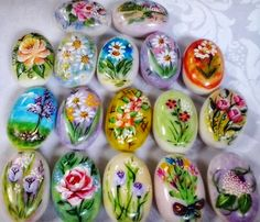 pintura em sabonete passo a passo flores