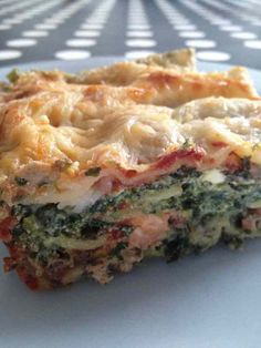 Lasagnes épinard, ricotta et saumon - Rachel cuisine - Expolore the best and the special ideas about Thirty one party Classic Lasagna Recipe Easy, Easy Lasagna Recipe With Ricotta, Cottage Cheese Lasagna Recipe, Healthy Breakfast Recipes, Healthy Recipes, Kids Nutrition, Nutrition Chart, Nutrition Quotes, Skinny Recipes