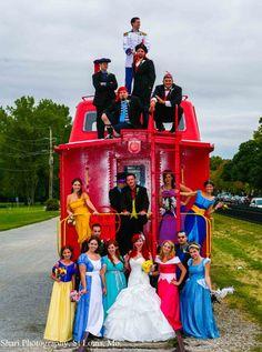 Disney Wedding Has Bride & Groom As Little Mermaid Characters   The Mary Sue