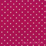 Momo Mochi Dot Magenta - LINEN [MODA-32910-12] - $12.95 : Pink Chalk Fabrics is your online source for modern quilting cottons and sewing patterns., Cloth, Pattern + Tool for Modern Sewists