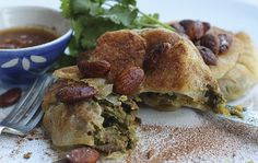 Philippa Davis gives rabbit a Moroccan twist with this wild rabbit, almond and saffron pastilla recipe. It works well with pigeon, pheasant or partridge Wild Rabbit, Partridge, Pheasant, Almond, Beef, Meals, Chicken, Dinner, Breakfast