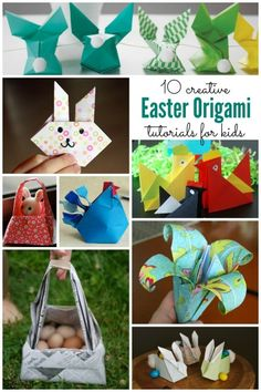 10 Easy Origami Tutorials perfect for Easter- Housing a Forest