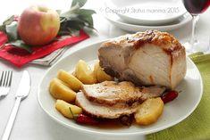 ricetta secondo carne maiale marinato con le mele marinatura semplice piatto gustoso facile delle feste domenica famiglia Statusmamma Gialloblogs © Copyright Status mamma 2015