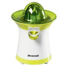 Presse-agrumes Brandt PAI-40V, Service direct au verre, Tamis métallique , Stop goutte