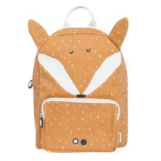 The brand Trixie baby presents its backpacks, ideal for children between 2 and 5 years. This one has the shape of a fox, Kids Backpacks, School Backpacks, Baby Rucksack, Fox Brand, Toddler Bag, Mr Fox, Fox Ears, Eco Friendly Bags, Baby Presents