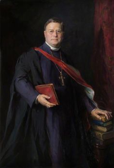 William Temple Archbishop of Canterbury - Philip Alexius de Laszlo Temple Quotes, Reform Movement, Church Of England, Morning Prayers, Art Uk, Canterbury, Guinness, Budapest, Worship