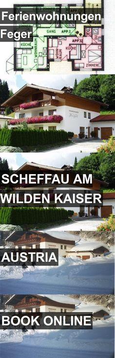 Hotel Ferienwohnungen Feger in Scheffau am Wilden Kaiser, Austria. For more information, photos, reviews and best prices please follow the link. #Austria #ScheffauamWildenKaiser #travel #vacation #hotel