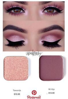 Tolle Make-up-Tipps . # makeup sencillo cafe Tolle Make-up-Tipps . Pink Eye Makeup, Makeup Eye Looks, Eye Makeup Steps, Pink Eyeshadow, Natural Eye Makeup, Eyeshadow Makeup, Hair Makeup, Makeup Eyes, Maskcara Makeup