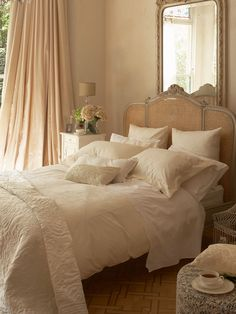 This is just spectacular. rose gold bedroom decor - Google Search