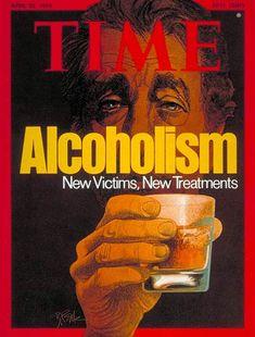 TIME Magazine Cover: Alcoholism - Apr. 22, 1974