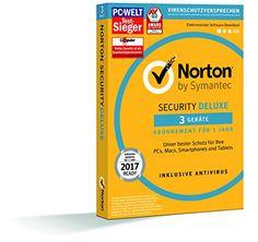 SYMANTEC Norton Security Deluxe (3 Geräte - PC, Mac, Smar... https://www.amazon.de/dp/B017IGESSI/ref=cm_sw_r_pi_dp_x_87PzybT8J0TNW
