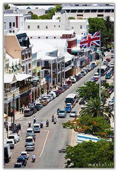 Front Street, BERMUDA. Pin provided by Elbow Beach Cycles http://www.elbowbeachcycles.com