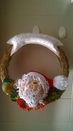 Guirlanda de Natal 2015 feito para os cursos Lojas Linna Assis