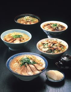 I would eat all these bowls of ramen