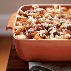Roasted Butternut Squash and Bacon Pasta | CookingLight.com