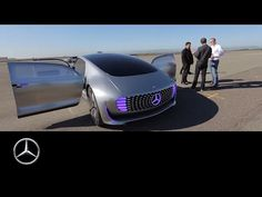 A driving experience of a different kind – the F 015 - Mercedes-Benz original - YouTube