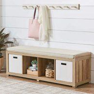 Shop for Better Homes & Gardens Furniture in Home. Buy products such as Better Homes & Gardens Square 4 Cube Storage Organizer, Multiple Colors at Walmart and save. Entryway Bench Storage, Entryway Decor, Entryway Furniture, Weathered Furniture, Cube Storage Bench, Cheap Furniture, Tiny Furniture, Foyer, Cubby Storage