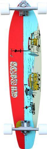 Amazon.com : GFH 38-Inch V-Dub Complete - 8.5 x 38 (Orange) : Longboard Skateboards : Sports & Outdoors