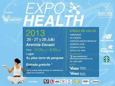 Expo Health, 26 a 28 de julio, #costarica
