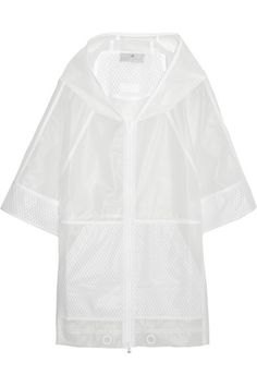 Adidas by Stella McCartney mesh jacket (more stylish activewear --> http://chicityfashion.com/stylish-activewear/)