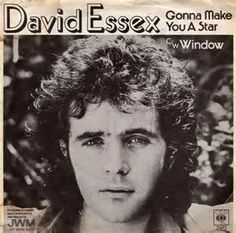 David Essex and Gonna Make you a Star from I tried to copy him with a white suit but going into town on the bus it got covered in marks! Only wore it once! Richard Beckinsale, Sean Connery 007, David Essex, Uk Charts, Film Script, Star David, Journal, Listening To Music, Music Music