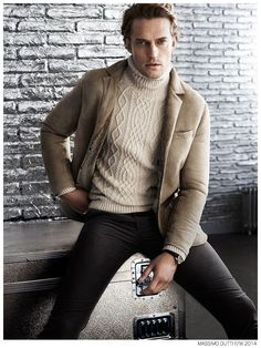 Massimo Dutti Fall/Winter 2014 'New York City' Campaign