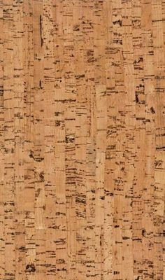 Natural Cork Floor...great in a bathroom.
