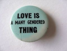 Love sees no gender