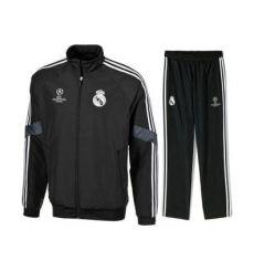 Nuevo chandal Real Madrid UEFA Champions League 2014-15. http://www.deportesmena.es/camiseta-real-madrid/