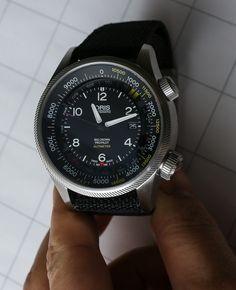 Oris Big Crown ProPilot Altimeter Watch Hands-On Flying Debut