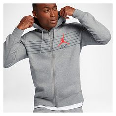 b056d692e42bdd Jordan Flight Graphic Fleece Full Zip Hoodie - Men s at Eastbay