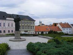 Slovakia, Nitra - Pribinovo Square