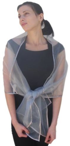 Sheer Silver Organza Evening Wrap Shawl for Prom Wedding Bride Sheer Delights http://www.amazon.com/dp/B000EE54TY/ref=cm_sw_r_pi_dp_g0AJwb027BMAF