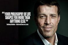 philosophy Tony Robbins Picture Quote
