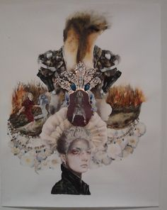 """See """"Through a Glass, Darkly"""" through October 20 at SooVAC."""