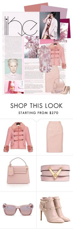 """""""You Can Do Pastels For Winter Too! #Pink"""" by perth-fashion-stylist ❤ liked on Polyvore featuring Gucci, Marc by Marc Jacobs, Valentino, The 2nd Skin Co., Pink, booties and valentino"""