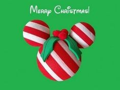 Mickey mouse candy cane