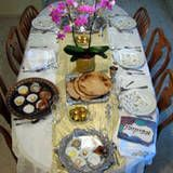 How to set a Passover Seder table...