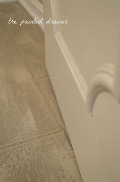 how to create fall in bathroom floor