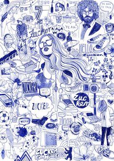 Silke est inspirée par la vie de tous les jours, les magazines et les cahiers qu'elle trouve dans les marchés aux puces. On reconnaît dans son trait simple une insolence presque adolescente, et ses images, intégrant à la fois l'encre et la couleur, illustrent des histoires qui font sourire, influencées par la vie de tous les jours, la mode, les conversations entre amis et la musique. Portrait © Berit Styll
